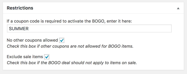 WooCommerce BOGO Screenshot 7