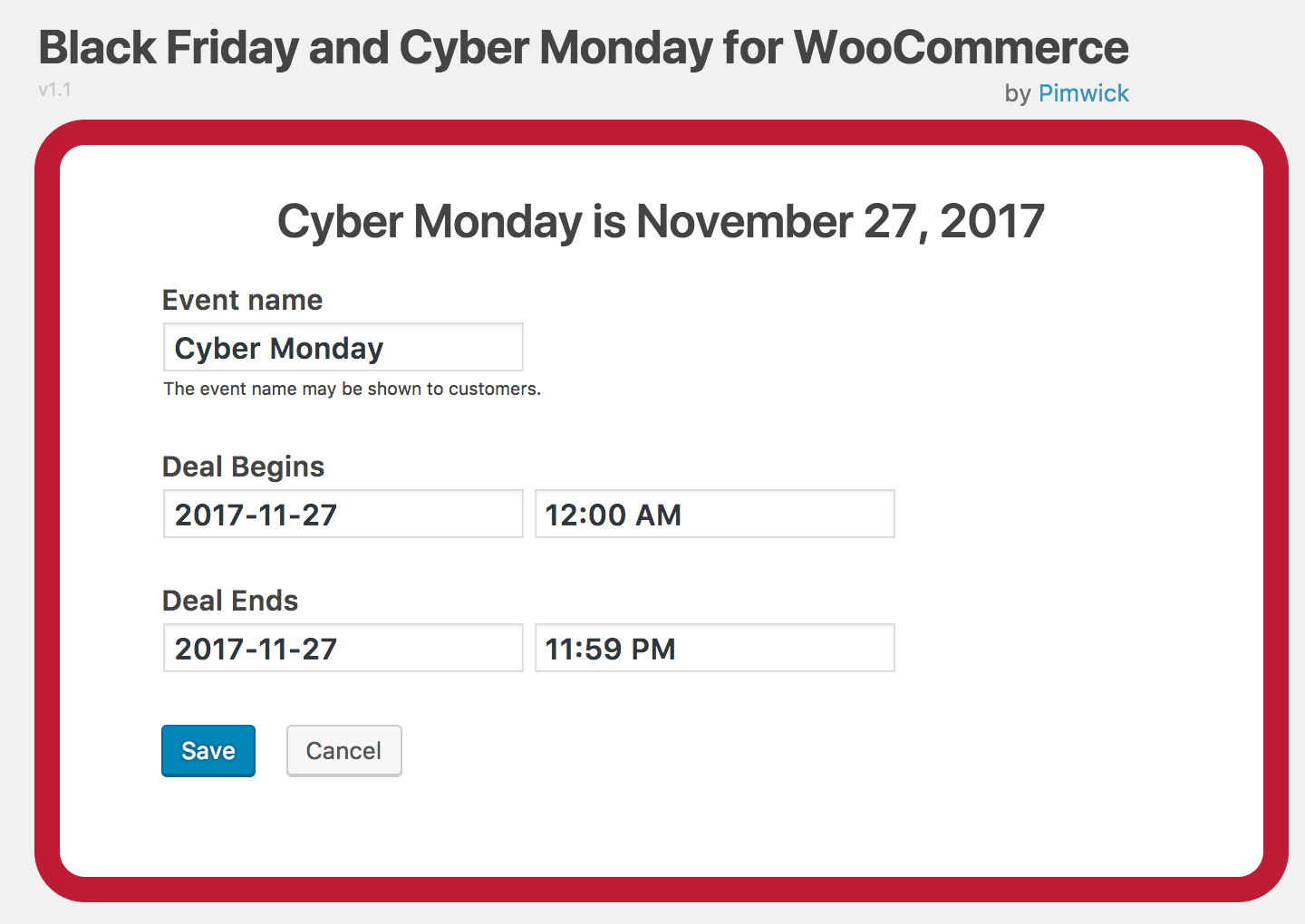 WooCommerce Sales - Screenshot