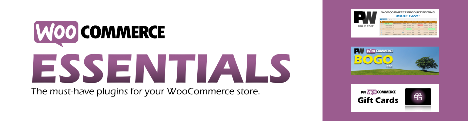 WooCommerce Essentials